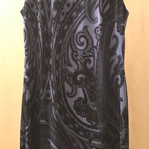 Tommy Hilfiger dress with paisley pattern.